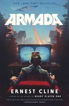Paperback #CoverReveal  Armada by Ernest Cline