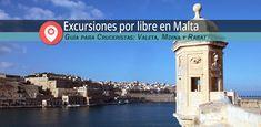 Guía práctica con lo que no debes perderte si preparas tus excursiones en La Valetta si llegas en Cruceros Malta. Lugares a visitar, mapas e información.