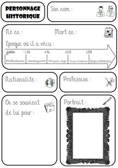 [Histoire] Frame for a presentation on a historical figure French Teaching Resources, Teaching French, Ap French, Learn French, Technology World, Futuristic Technology, Art History Memes, French Worksheets, Montessori Education