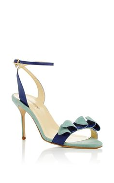 Anne Two Toned Leather Sandals by SARAH FLINT Now Available on Moda Operandi