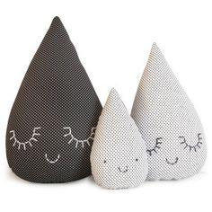 tear drop cushions