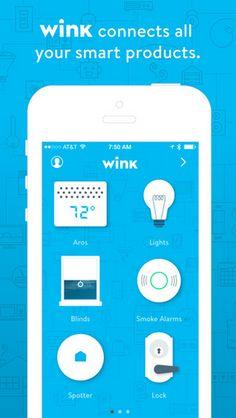 #Wink smart home technology