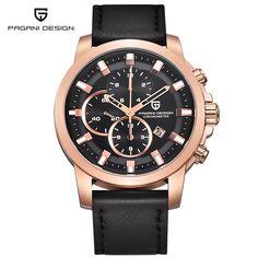 Watch men's luxury brand sports watch multifunction Pagani design Quartz Men Wrist Watch Military Watch Relogio Masculino