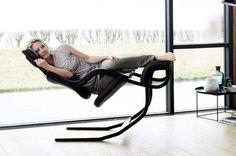 제로 그라비티 기분을 맛볼 수있는 라운지 의자 [Gravity balans】 | 인테리어 해킹