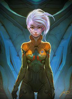 TITAN3 - Pilot by Bluefley.deviantart.com on @deviantART