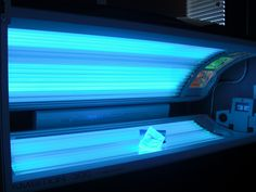 tanning beds!