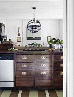 the best kitchen cabinets i've ever seen