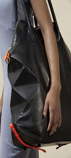 Origami-inspired handbags by Alison  Dunlop ♥✤ | Keep the Glamour | BeStayBeautiful
