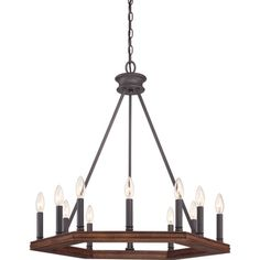 Plantation Darkest Bronze Finish 12-light Chandelier - Overstock™ Shopping - Great Deals on Cambridge Chandeliers & Pendants