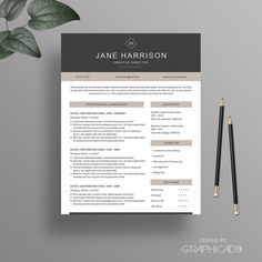 Resume Template - Instant Download