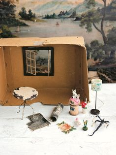 Beautiful new book by Sam McKechnie of the whimsical shop The Magpie and the Wardrobe - Miss Violet's Dolls House - Magical makes for your miniature world. Sober, Clothespin Dolls, Little Houses, Dollhouse Furniture, Miniature Dolls, Doll Toys, Vintage Furniture, Paper Dolls, Whimsical