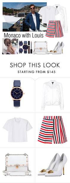 """""""Monaco with Louis Tomlinson #clothes #outfit #Louis #Tomlinson"""" by ap0dita ❤ liked on Polyvore featuring Marc Jacobs, Alexander Wang, TIBI, Thom Browne, Fendi, Versace, Couture Colour, outfit, louis and clothes"""