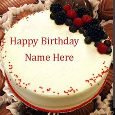 Write Name On Chocolate Birthday Cake Wishes For Friends Happy With Editorprint