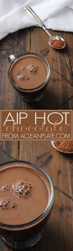 "AIP Hot ""Chocolate"" from A Clean Plate is dairy-free, chocolate-free, and delicious!"
