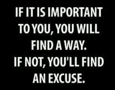 People and their excuses! Just do it.