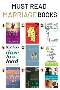 The Best Marriage Books for Couples That Aren't Cheesy The best marriage books for couples to read together that aren't cheesy. These relationship books and marriage workbooks will help improve your relati. Good Marriage, Happy Marriage, Marriage Advice, Books On Marriage, Marriage Counseling Books, Healthy Marriage, Toxic Relationships, Healthy Relationships, Books On Relationships