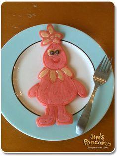 Foofa Pancake from jimspancakes.com
