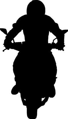 Resultado de imagem para silhouette motorcycle