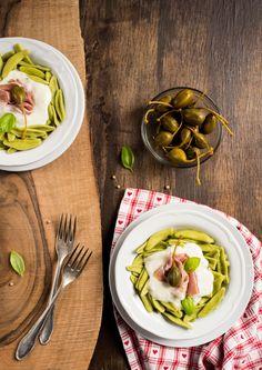 Makaron z sosem gorgonzola