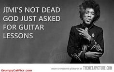 Jimi Hendrix Is Not Dead Very Nice Hippie Made Picture ◬