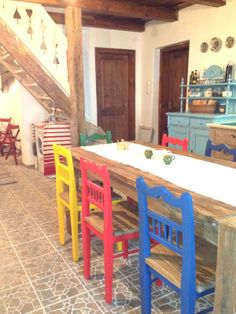 part of the main level with the dining table- rental house - BUKK, Hungary