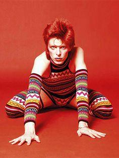 1973 Sukita Tiger Woolen - David Bowie Photos