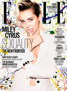 Miley Cyrus is ELLE's October Cover Star | Fashion, Trends, Beauty Tips & Celebrity Style Magazine | ELLE UK