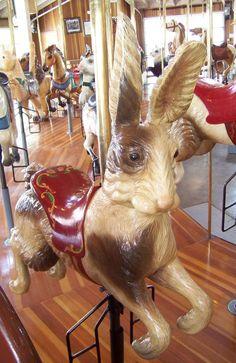 Richland Carrousel Park Carrousel  Carousel Works Rabbit Jumper