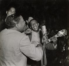 """Weegee - """"Now they are really in the groove again,"""" Savoy Ball Room (1943)"""