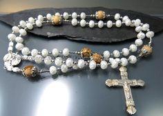 Rosary Sterling silver by RosenkranzAtelier on Etsy