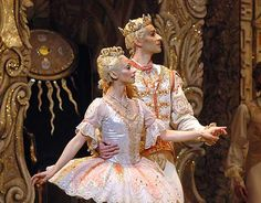 Roberta Marquez and Valeri Hristov as The Sugar Plum Fairy and The Prince Ballet Costumes, Dance Costumes, Famous Ballets, Sugar Plum Fairy, Ballet Art, Royal Ballet, Ballet Beautiful, Dance Art, Brown Floral