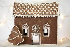 Grain-Free Gingerbread Men and Gingerbread House | DeliciouslyOrganic.net #paleo (Use unsulphured molasses. For the royal icing use corn free confectioners' sugar from Whole Foods or Trader Joe's, and Frontier Vanilla Flavoring or Homemade Vanilla Extract made using a potato or grape based vodka to make corn free.)