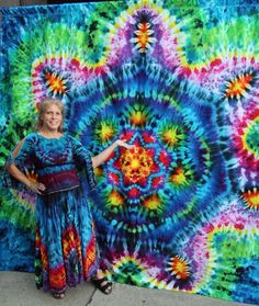 Dharma Trading Co. Featured Artist: Linda Stewart tie-dye