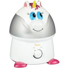 Crane Animal Ultrasonic Cool Mist Humidifier, White ($56) ❤ liked on Polyvore featuring home, home improvement, household appliances and white