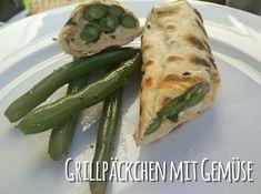 Schade, dass Veganer nur Steine und Gras essen…Außer heute, da kommen leckere Grillpäckchen auf den Rost! Gefüllt werden können sie mit dem Gemüse, was das Herz begehrt. Heute gab es frisch g…