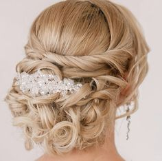 Elegant wedding hairstyle idea; Featured: Elstile
