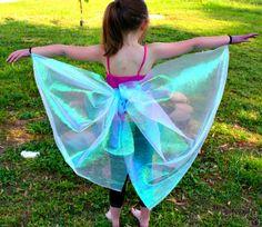 diy no-sew butterfly wings