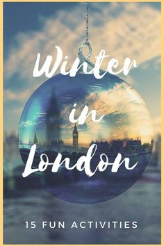 What to do in London in Winter - 15 fun activities including best London ice rinks, best Christmas markets, best pubs and winter cafes! Get your London winter travel tips here! #visitlondon #omgb #londoninwinter