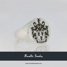 Irish family crest jewelry