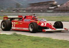 Gilles Villeneuve (Ferrari) Grand Prix du Brésil - Jacarepagua 1981 - F1 History & Legends.