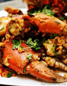 To Food with Love: Mud Crabs with Salted Egg Yolk Lobster Recipes, Crab Recipes, Asian Recipes, Healthy Recipes, Recipies, Chinese Recipes, Quick Recipes, Delicious Recipes, Yummy Food