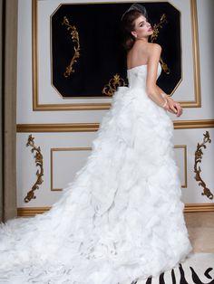 Jovani Designer Wedding Gown, Style 5837