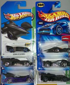 Hot wheels Bat Mobiles