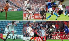 The European Championships have been treated so some great goals over the years. Now, Sportsmail has picked out six of the best goals ever scored in European Championship history. Manchester United Legends, Leeds United, Gary Mcallister, England Goals, Football Calendar, David Seaman, Football Results, English Football League, Football Tournament