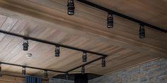 Дом из бруса, 360 м² Track Lighting, Ceiling Lights, Interior, Home Decor, Decoration Home, Room Decor, Design Interiors, Ceiling Lamp, Interiors