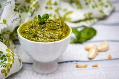 A collection of some of our best pesto recipes, from classics like basil pesto sauce on pasta, to pesto grilled cheese, seafood pesto dishes and more. Tomato Basil Salad, Basil Pesto Sauce, Pesto Dip, Pumpkin Pasta Sauce, Cheese Sauce For Pasta, Pesto Dishes, Grilled Trout, Grilled Meat, Fresh Basil Recipes