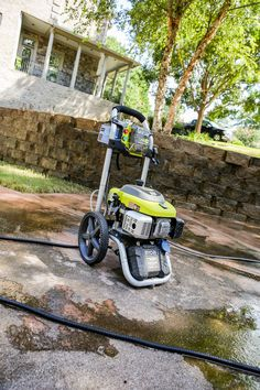 Tips for Pressure Washing Concrete - Bower Power Pressure Washing House, All Jokes, Home Repairs, Concrete, Cleaning, Work Clothes, Effort, Helpful Hints, Feels