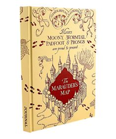 This Mischief Managed Hard Cover Journal is perfect! #zulilyfinds