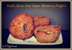 A Crafty Gourmet: Super Moist Grain Free Vegan Blueberry Muffins Made with Tula's CoCoYo