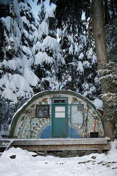 quonset hut house